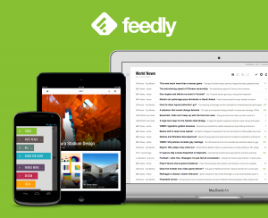 Feedly - RSS in schick.