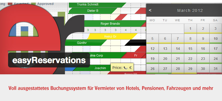 easy Reservations - Buchungssystem für WordPress
