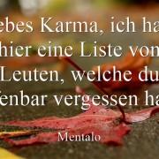 Liebes Karma