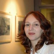 Doreen Gadenne † bei der Ausstellungseröffnung 2004