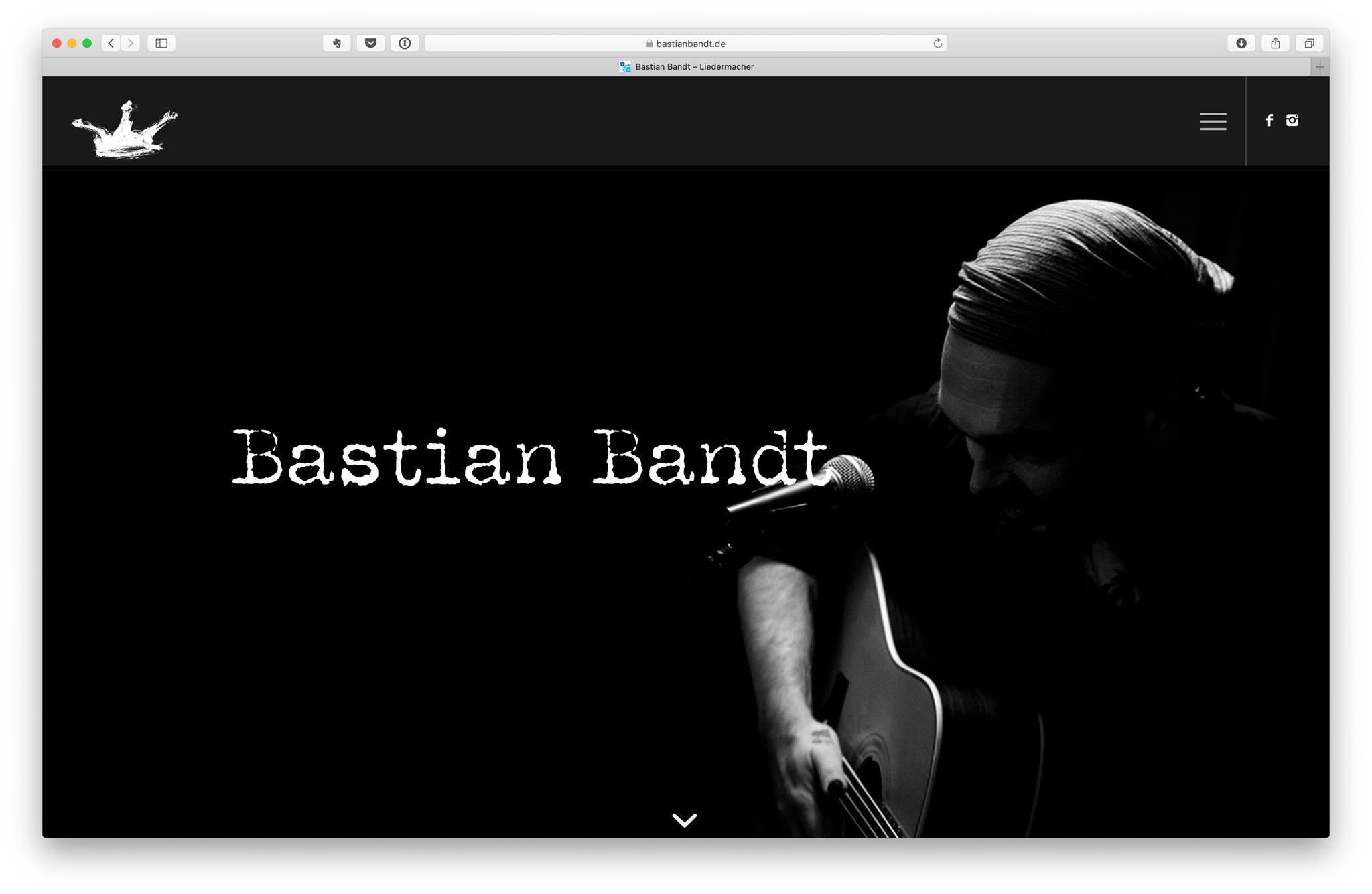 Fallbeispiel: www.bastianbandt.de